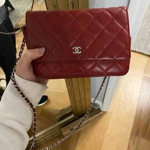 Chanel beautiful quilted bag